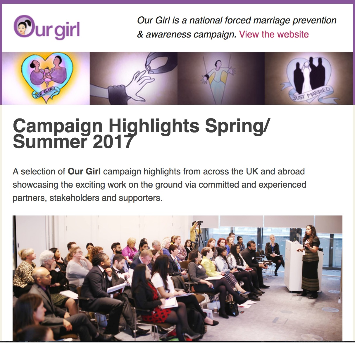 E-newsletter Spring Summer
